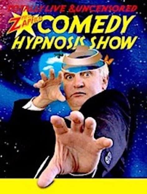 Peter Zapfella Comedy Hypnosis Show min