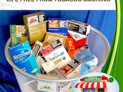 WELCOME LIFE FREE FROM TOBACCO SMOKING CLASSIC