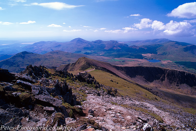 View from Snowdon Mountain (2)