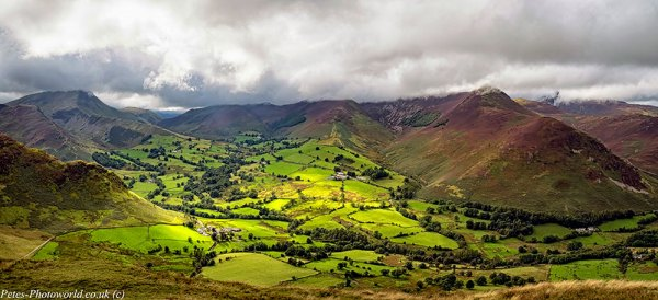 Catbells view to Causey Pike & Derwent Fells