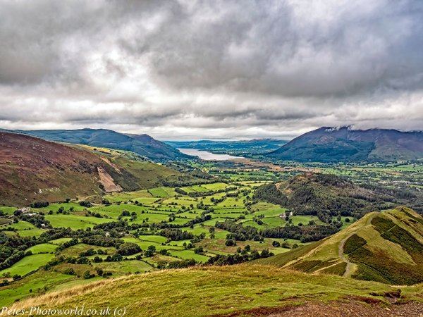 Skelgill Bank & Bassenthwaite Lake