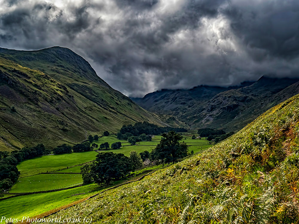 The walk to the Red Tarn & Helvellyn