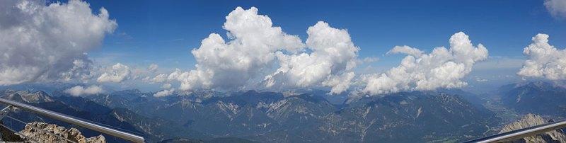 Zugspitze panorama 3
