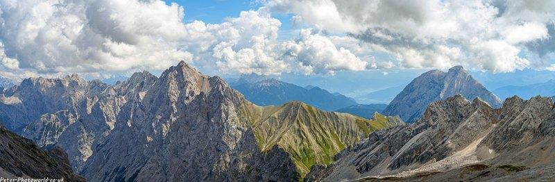 Zugspitzplatt panorama 2