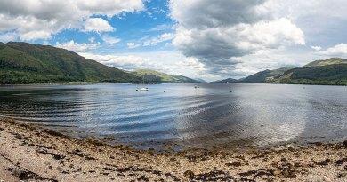Loch Linnhe beside Corran ferry