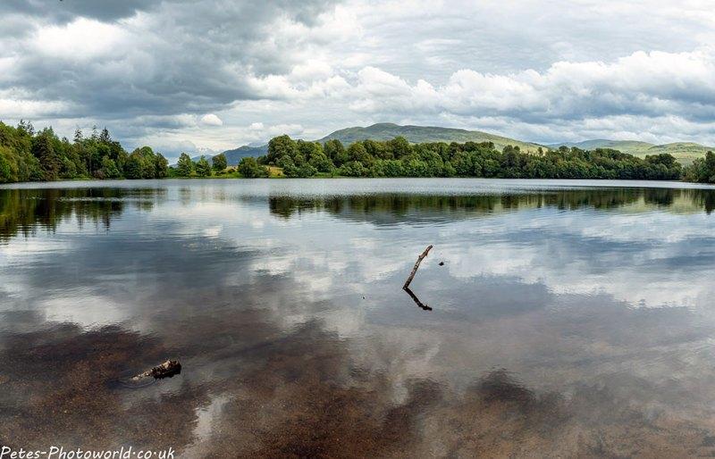 Lochan Eoin Mhic Alastair & Beinn Na Gucaig
