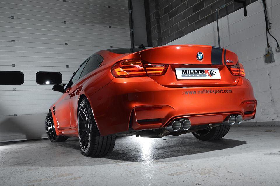 Milltek Sport Releases BMW M4 Performance Exhaust System