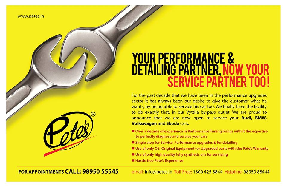 your performance & detailing partner, now your service partner too