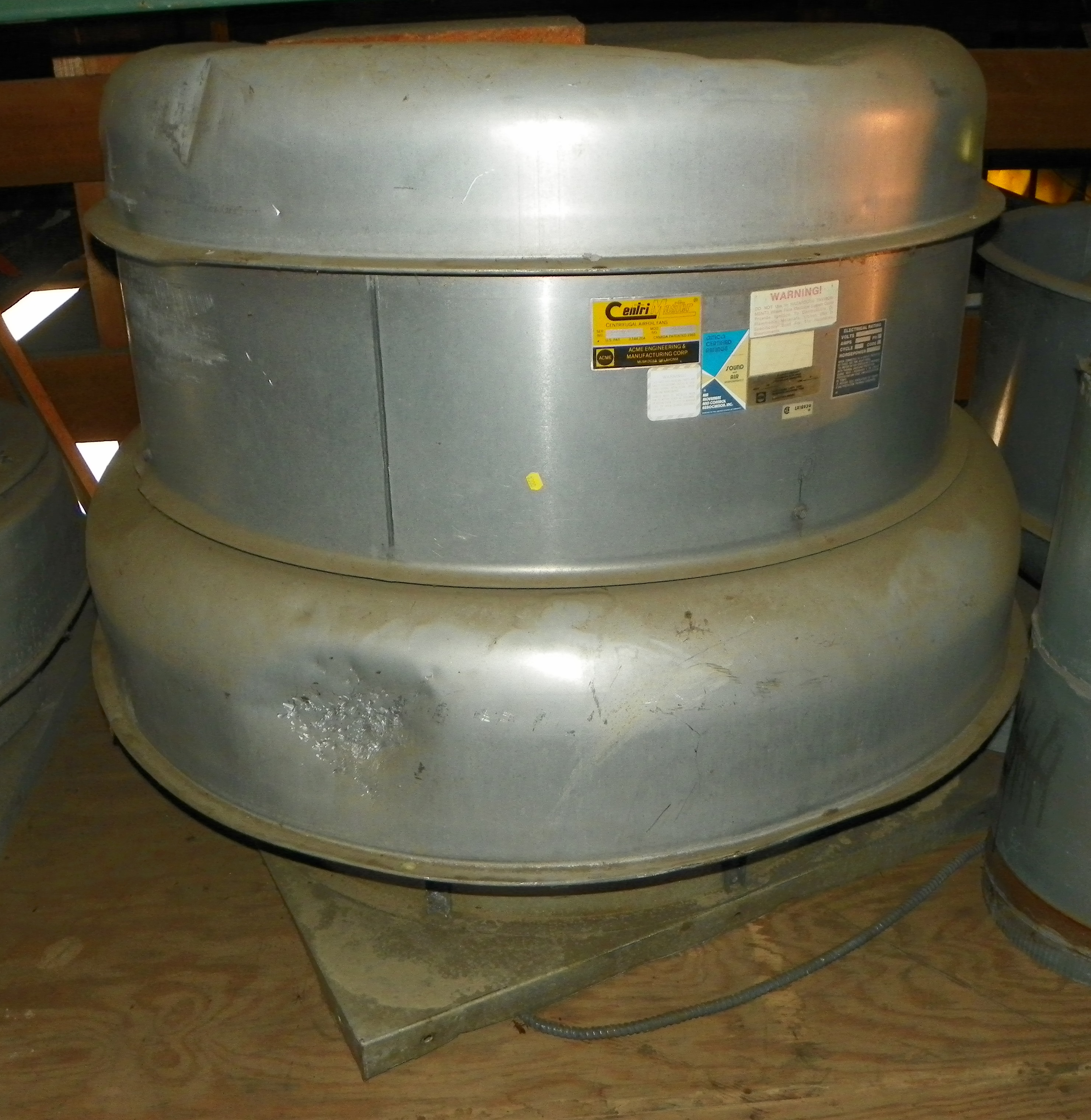 used exhaust fan centrimaster pn245