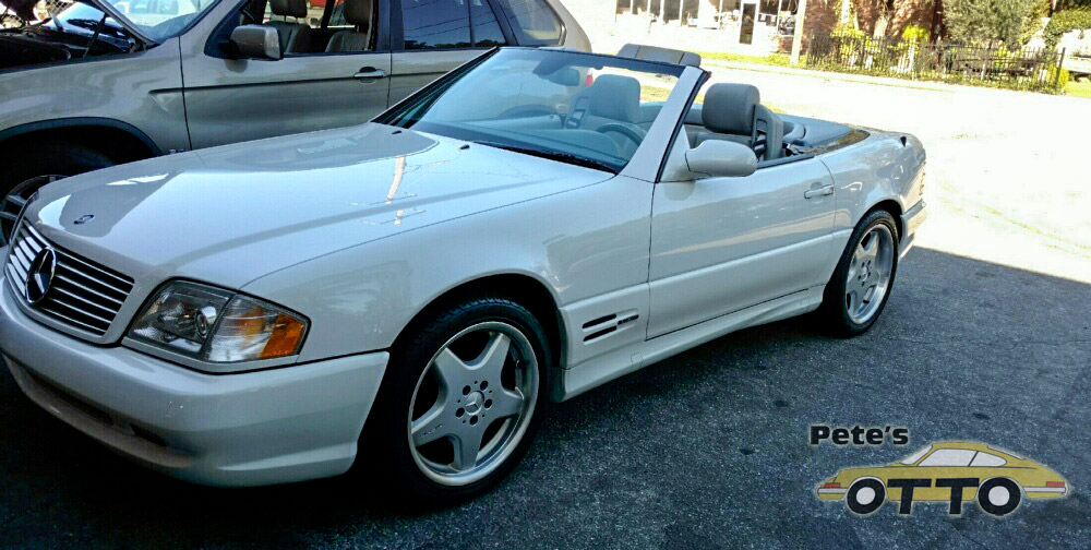 Mercedes-Benz repairs at Pete's Otto Shop in Valdosta, GA. Southern Georgia's top foreign car and performance car repairs.