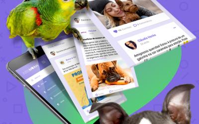 Primeira rede social exclusiva para pets