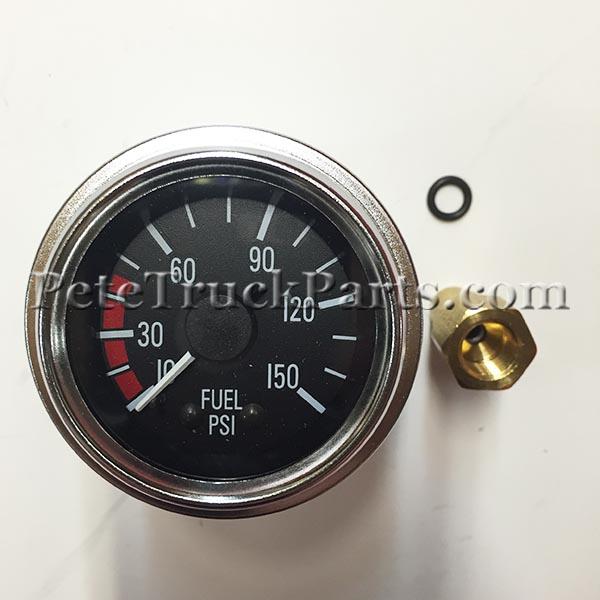 Gaugefuel Pressure Q436000009 Petetruckpartsrhpetetruckparts: Peterbilt Fuel Filter Gauge At Elf-jo.com