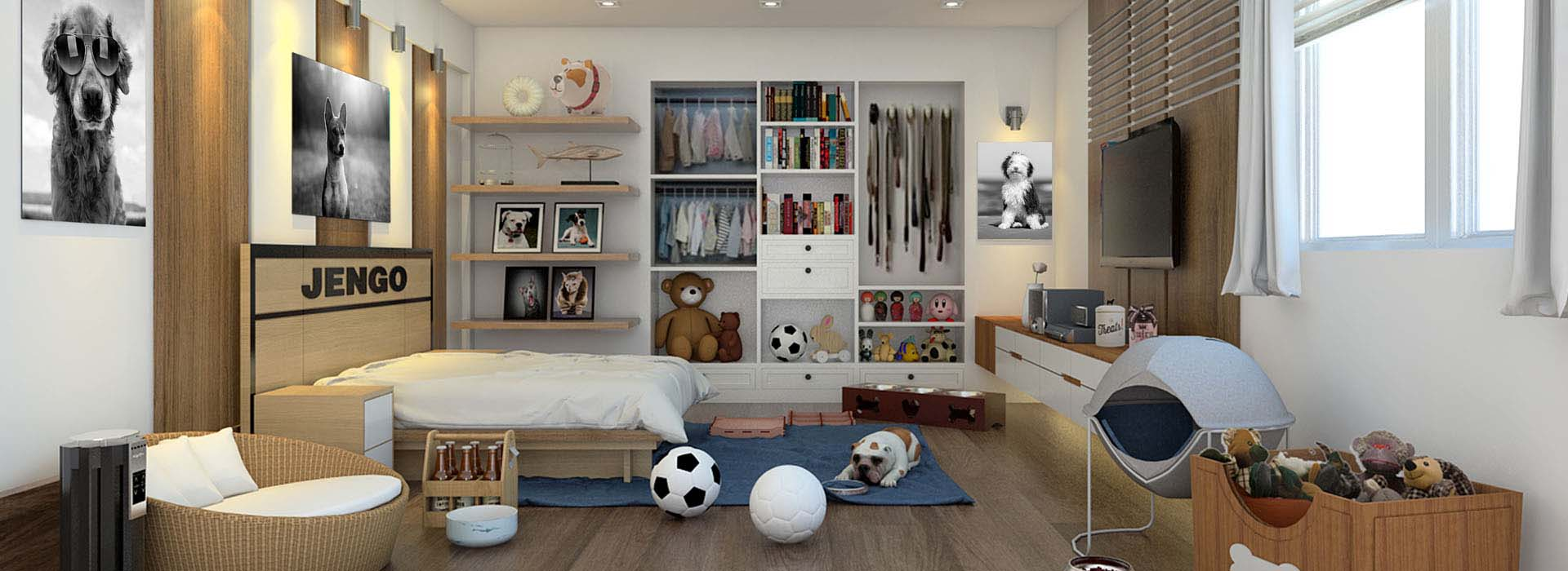 Pet Friendly House - Dogs Room