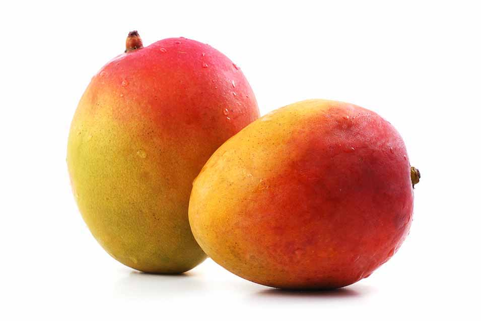 Picture of two mangos