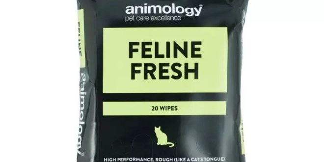 Animology launches new cat cleaning wipes