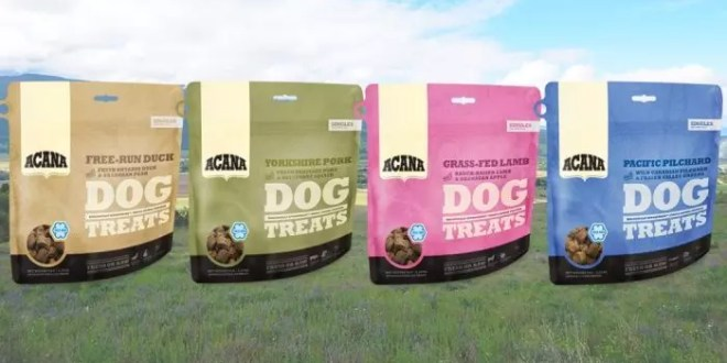 ACANA launches new Singles Dog Treats