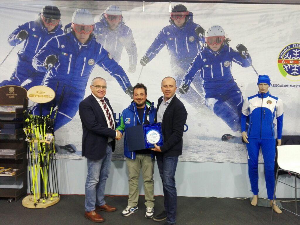 I maestri di sci Calabria a Modena Fiera Skipass