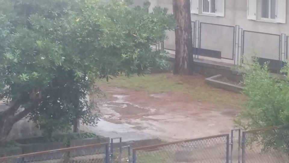 Allerta meteo in Calabria, Reggio colpita da una bomba d'acqua