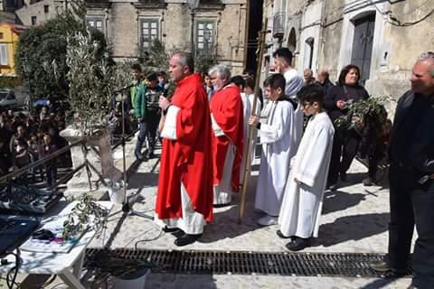 Domenica delle Palme: Benedizione unica in piazza Filottete