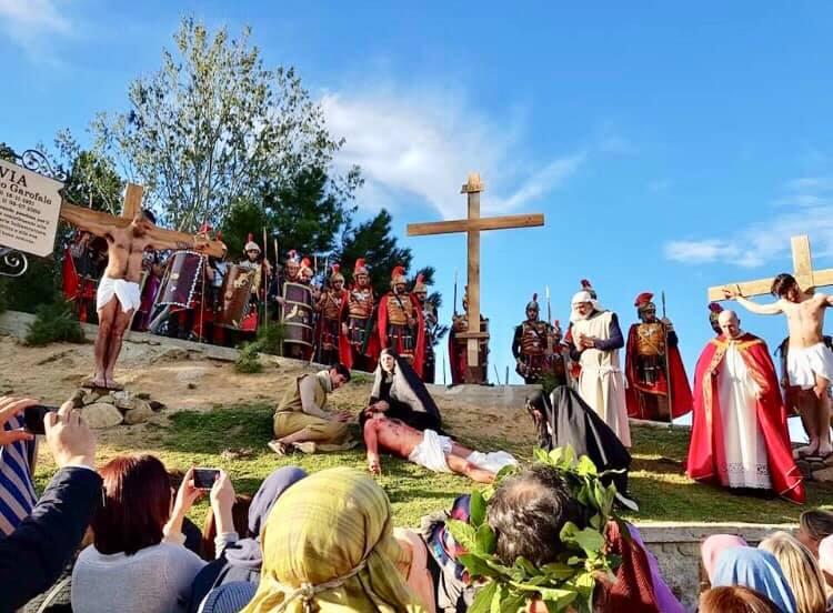 La Passione di Cristo rappresentata a Pagliarelle