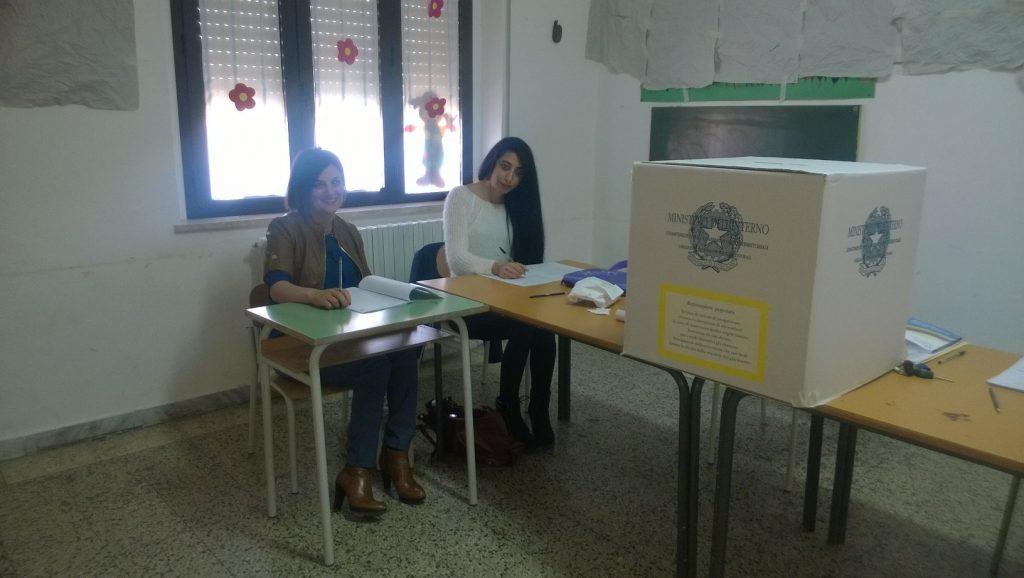A Camellino un solo votante fino alle ore 12
