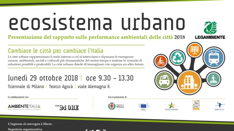 Ecosistema Urbano 2018: Male Crotone che si classifica al 92esimo posto