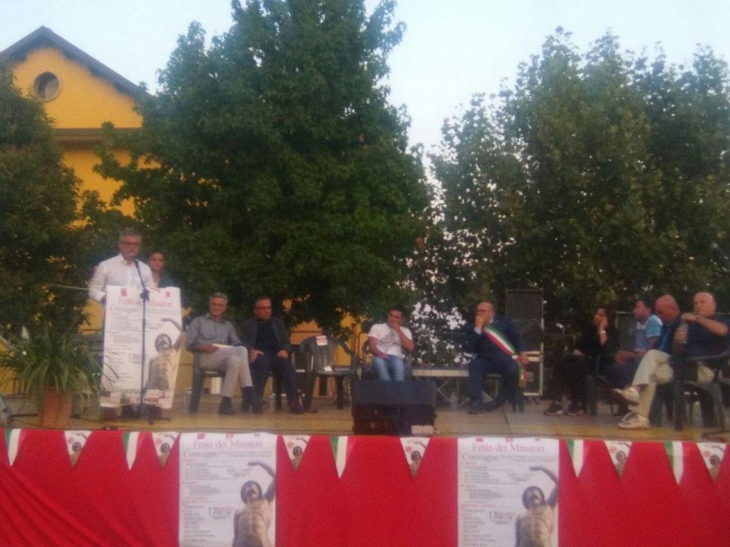 Festa dei Minatori a Pagliarelle, oggi il convegno della Cgil