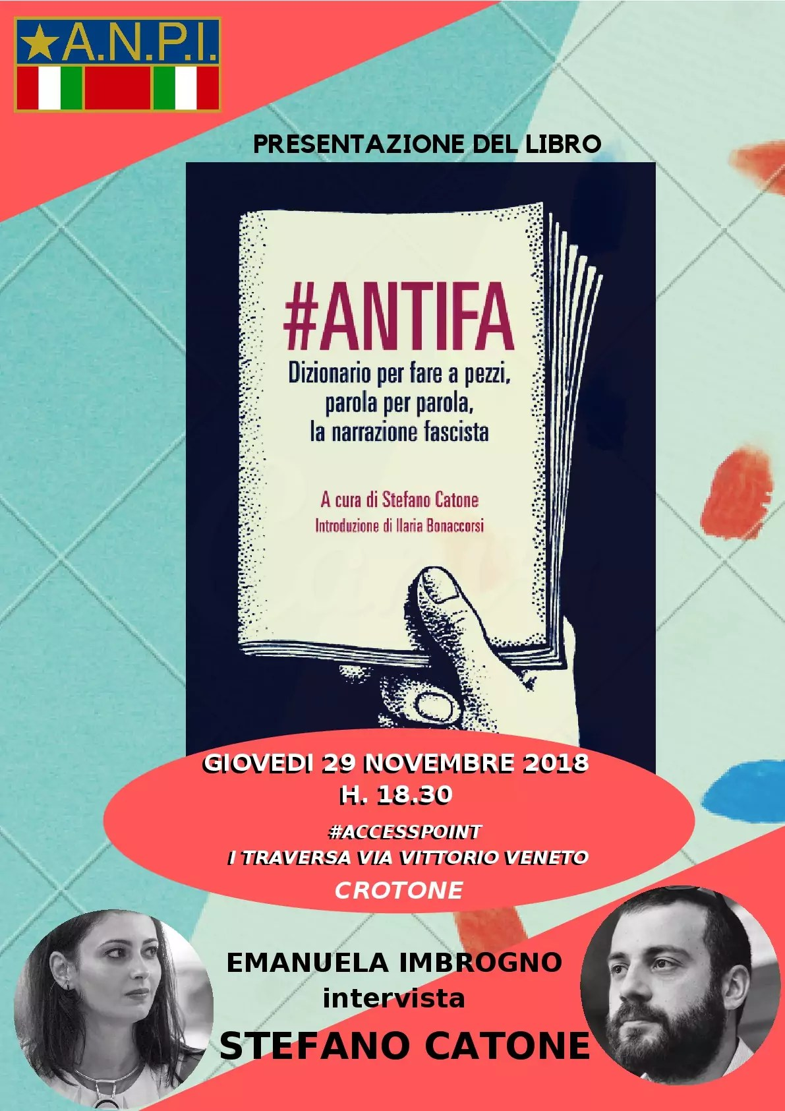 ANPI presenta #ANTIFA