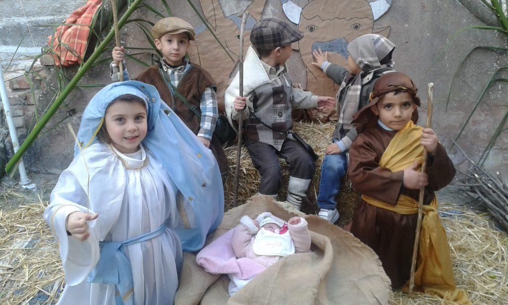 Il presepe vivente dei bambini della Walt Disney di Petilia