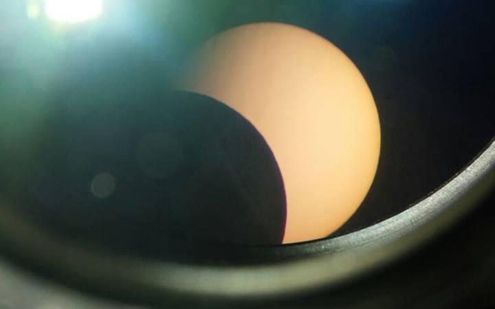 Eclissi di sole anche a Petilia