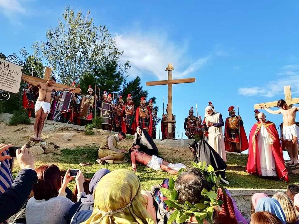 Via Crucis a Pagliarelle, devozione e rappresentazione