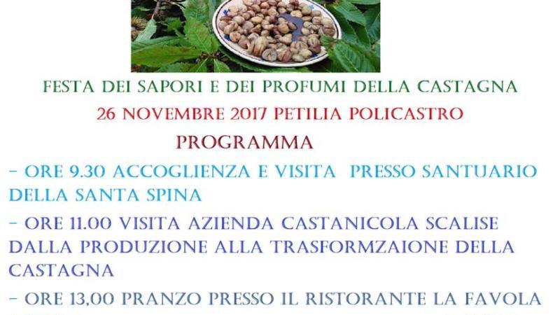 A Petilia Festa dei sapori e dei profumi della Castagna