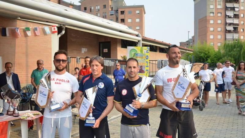 I Vigili del fuoco di mister Ierardi a Torino per il Campionato nazionale