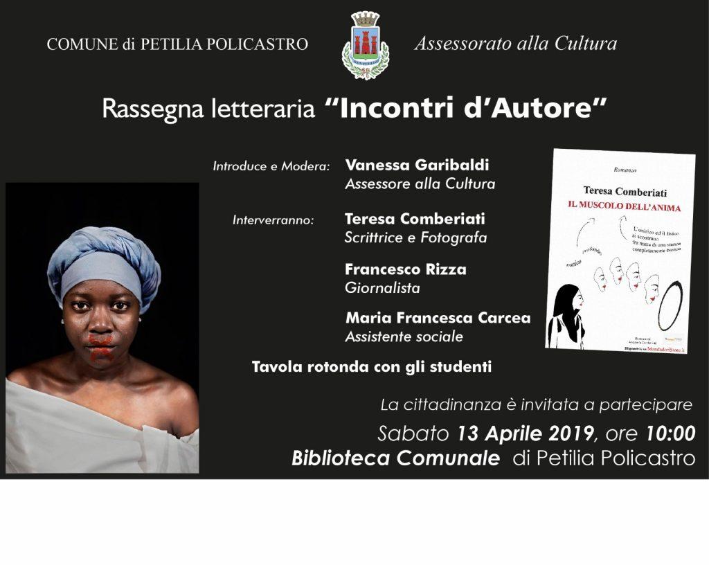 Incontri d'autore: Rassegna letteraria a Petilia