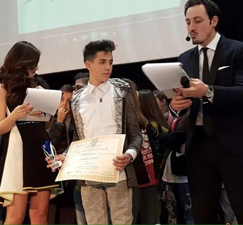 Pasquale Gumari arrivato terzo al Premio Albatros