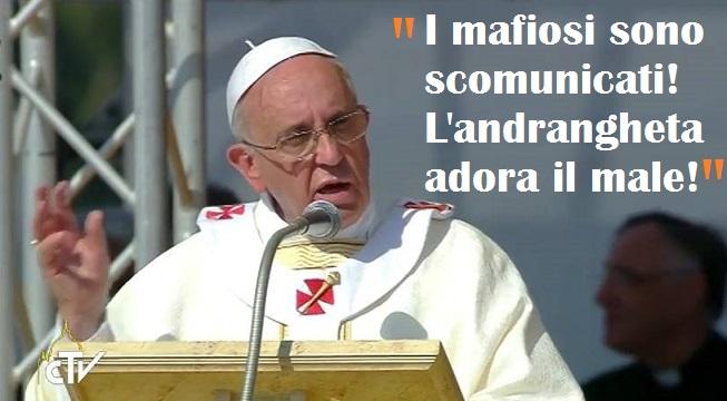 Papa Francesco in visita a Paola nel 2016