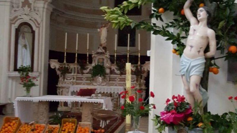 Festeggiato il Santo Patrono Sebastiano a Petilia