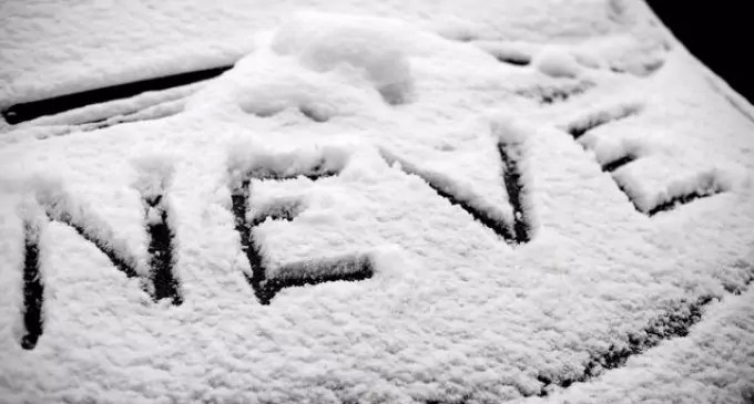 Primi fiocchi di neve a Petilia