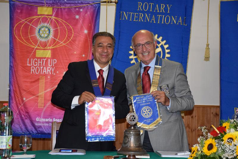 Rotary Club di Petilia Policastro presso il Santuario della Santa Spina la visita del Governatore