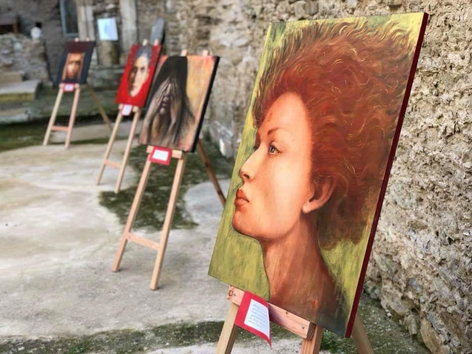 Le opere di Piera Bilotta in esposizione al convento di Roccabernarda