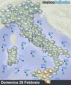 Maltempo, un morto in Calabria