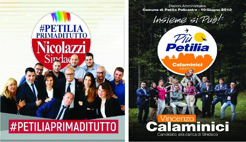 Calaminici o Nicolazzi: quale lista vincerà le elezioni? La scelta ai petilini