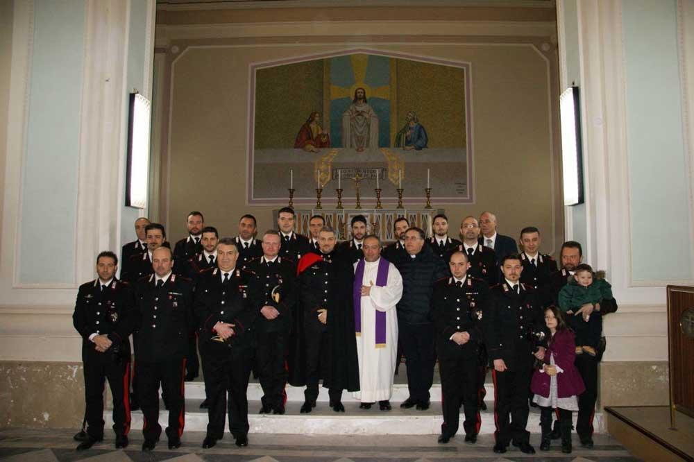 """Domani alle 11, nella chiesa di San Francesco, """"precetto natalizio"""" dei Carabinieri"""