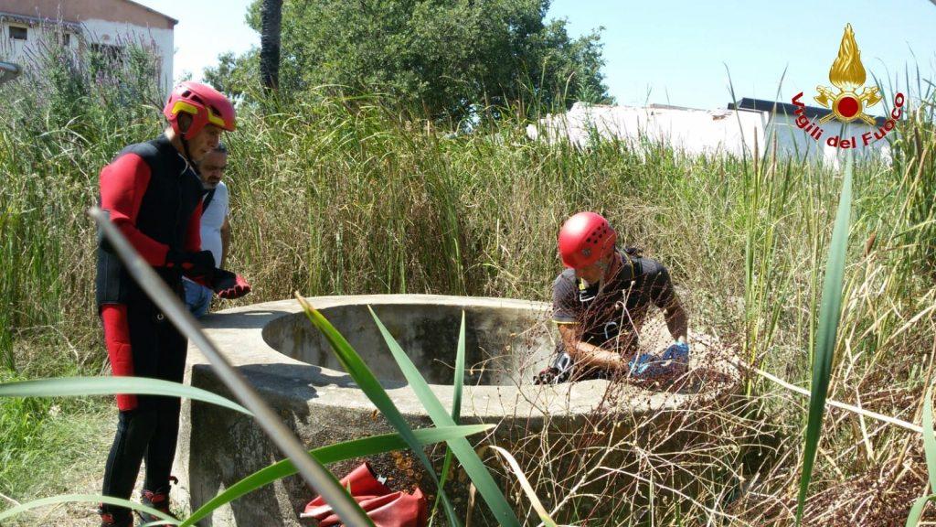 Recupero cadavere a Isola Capo Rizzuto