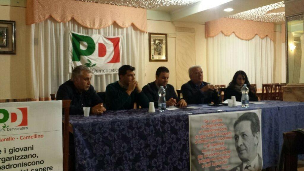 """Celebrato il congresso del Circolo PD """"Enrico Berlinguer"""" delle Frazioni Pagliarelle e Camellino"""