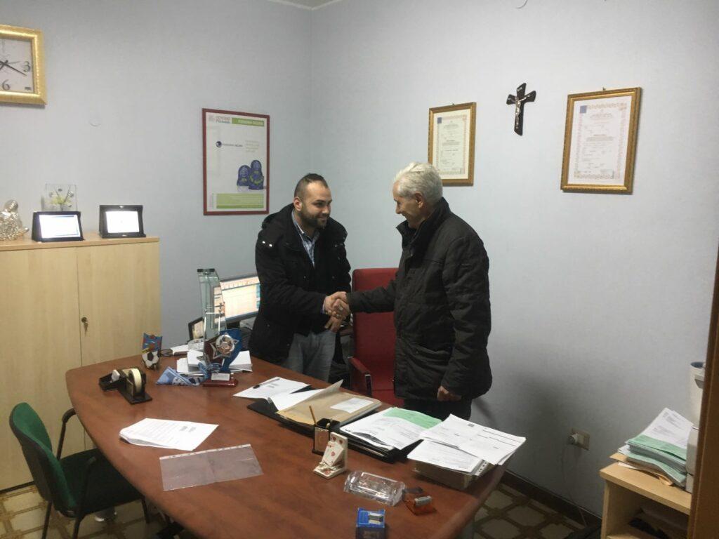 Cooperativa Familia e Academy Petilia intesa per il sociale