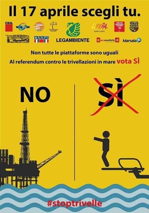 Il Circolo PD Pagliarelle-Camellino Vota Sì il 17 aprile