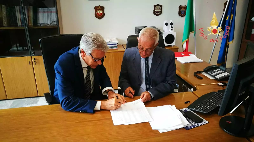 Cambio della guardia ai vertici dei Vigili del Fuoco della Calabria
