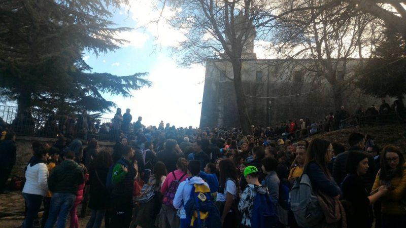 Giunta alla Santa Spina la processione del secondo venerdì di Marzo