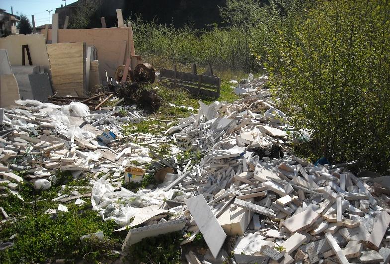 Scaricati rifiuti speciali illegalmente